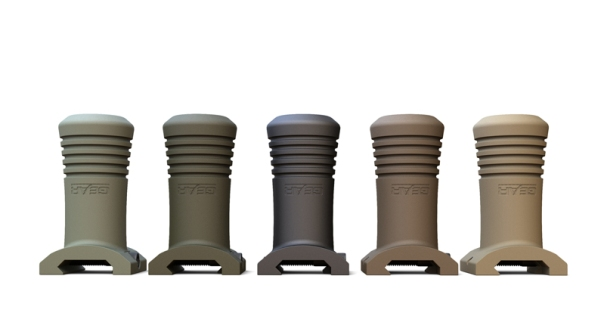 Gear Sector Stubby VFG Vertical Fore Grip Colors