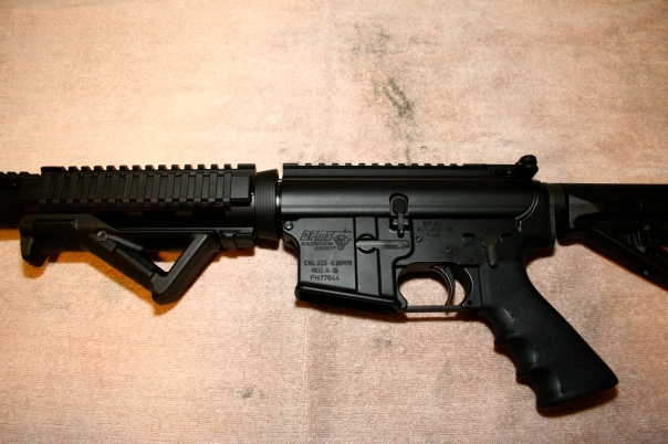 DPMS Flattop AR-15 with Magpul AFG & MOE Stock & Hogue Grip