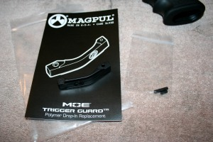 Magpul MOE Trigger Guard package contents