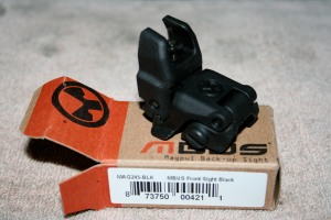 MAGPUL MBUS MAGPUL BACKUP BACK UP SIGHTS 1 front sight