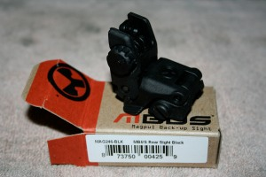 MAGPUL MBUS MAGPUL BACKUP BACK UP SIGHTS 2 rear sight