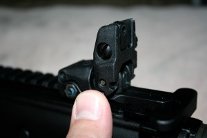 MAGPUL MBUS MAGPUL BACKUP BACK UP SIGHTS 12 rear sight