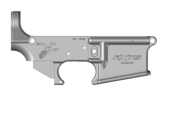 AXTS Weapons Lower with BADASS 45 selector 3