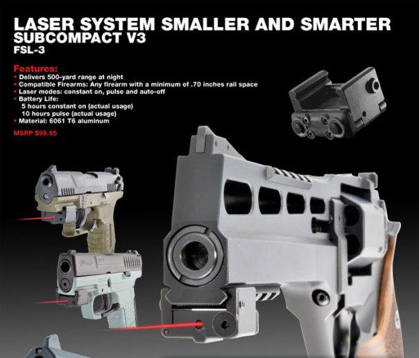 LaserLyte Subcompact V3 3